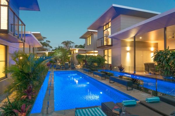 Moderne luxushäuser mit pool  Luxushäuser - 99 Beispiele zum Inspirieren! - Archzine.net