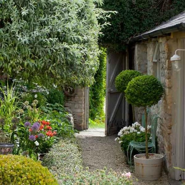 Dekor Reihenhaus Garten