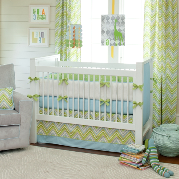 Idee mint bettw sche - Kinderzimmer deko mint ...