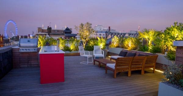 Gartenbeleuchtung - Bringen Sie Die Licht In Ihren Garten ... Garten Auf Der Dachterrasse