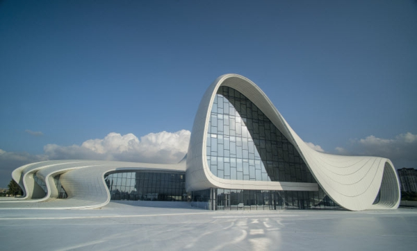 Extravagantes gebäude moderne gebäude außergwöhnliche architektur