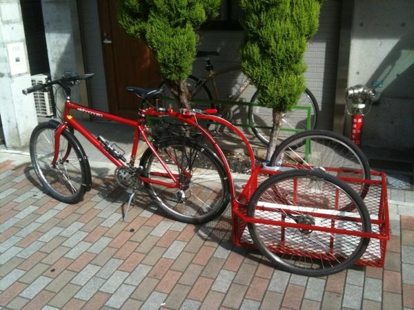 fahrrad-anhänger-test-fahrrad-accessoires-hochwertige-modelle-in-rot