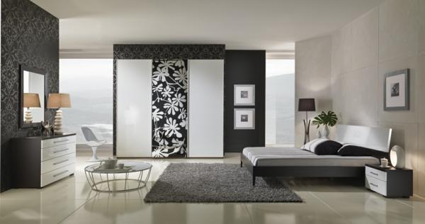 Wandtapeten In Steinoptik : Luxus Schlafzimmer ? 32 Ideen zur Inspiration