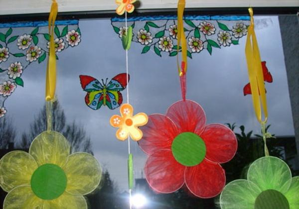 Fensterdeko Frühling fenster schmücken frühling mit blumen raum und möbeldesign