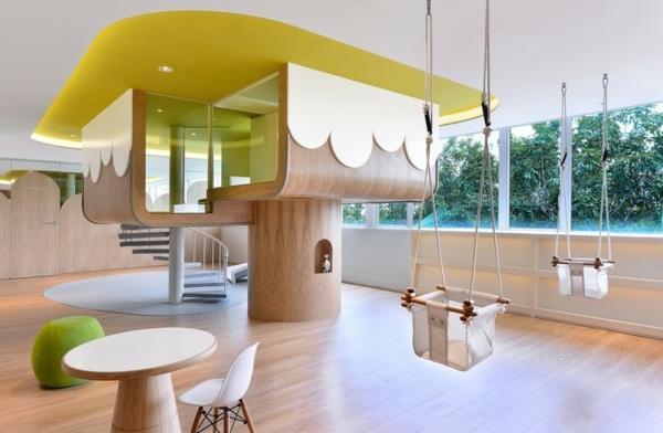 frühling-im-kindergarten-großer-innenraum-ein sehr schönes bild