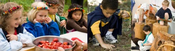 frühling-im-kindergarten-sehr-interessante-tätigkeiten-für-kinder-ein sehr schönes bild