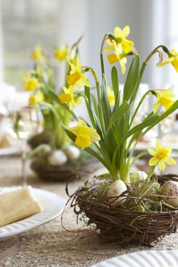 Tischdeko zum Ostern - 70 frische Ideen
