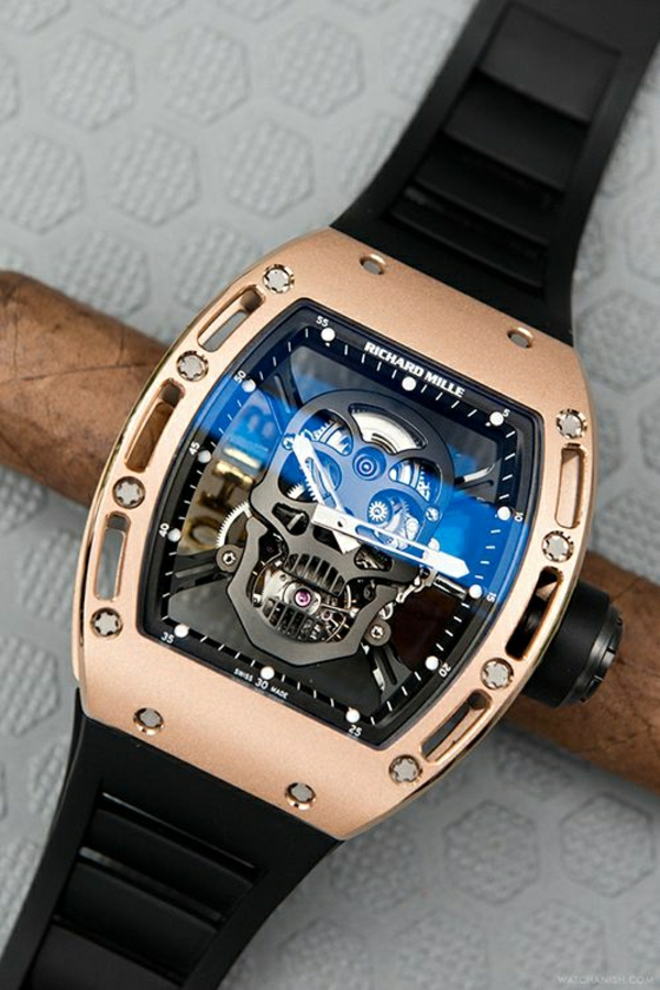 funk- armbanduhr-herren-schädel-design-