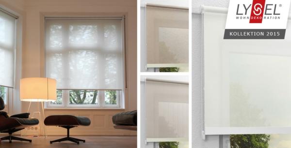 wohnzimmer mit modernen schiebegardinen