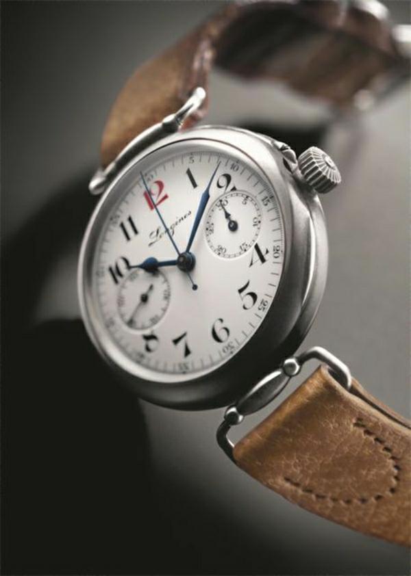 ganz-schöne-leder- armbanduhr-damen-braunes-leder-