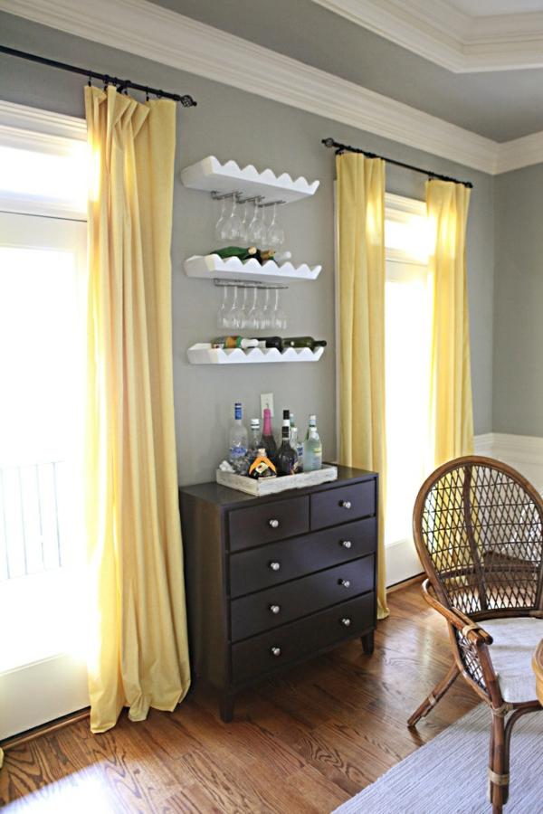 wohnzimmer gelbe vorhaenge konzept. Black Bedroom Furniture Sets. Home Design Ideas