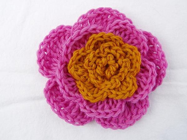 häkeln-wunderschöne-kreative-häkeleien-blumen--orange-rosa