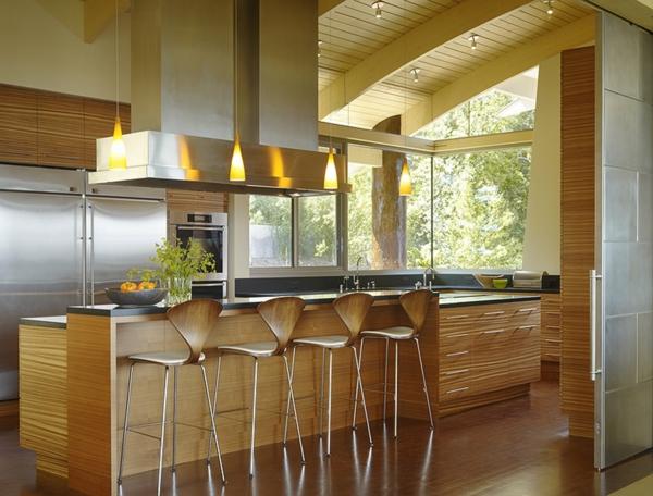 hocker-aus-metall-moderne-küchegestaltung