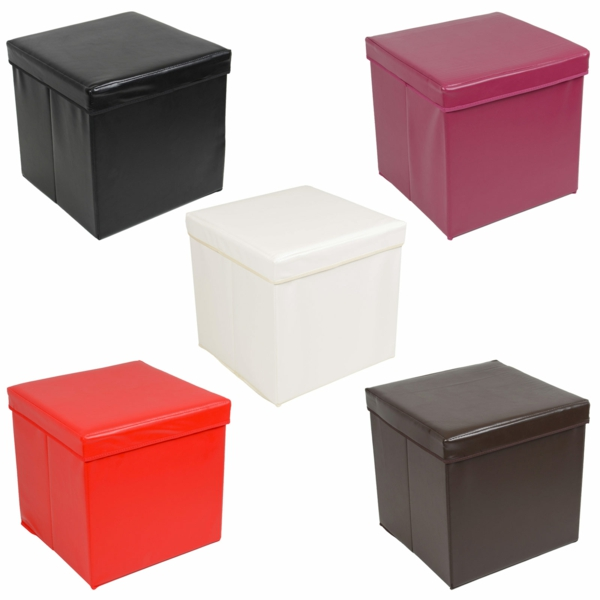 hocker-mit-aufbewahrung-funktion-fünf-quadratische-modelle-in-verschiedenen-farben
