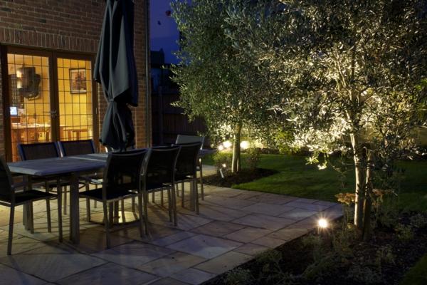 ideen-für-schöne-beleuchtung-im-garten-exterior-design-ideen