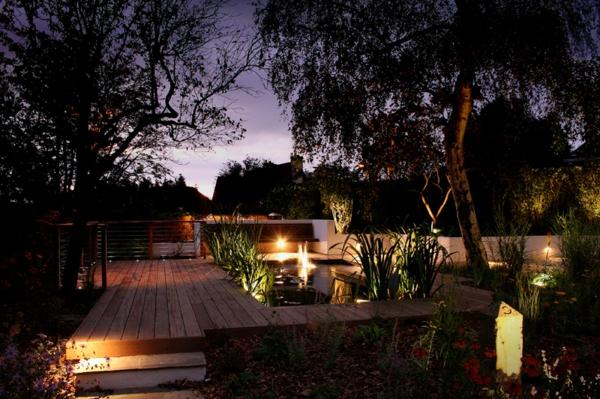 ideen-schöne-beleuchtung-im-garten-exterior-design-ideen