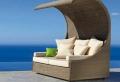Korbmöbel für eine moderne Außengestaltung!