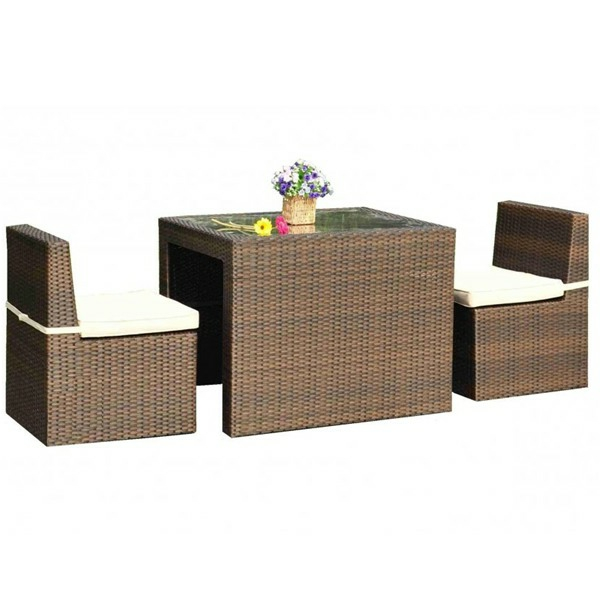 interessanter-moderner-super-wirkender-und-kreativ-gestalteter-möbelset-für-balkon-taupe-farbe-weißer-hintergrund