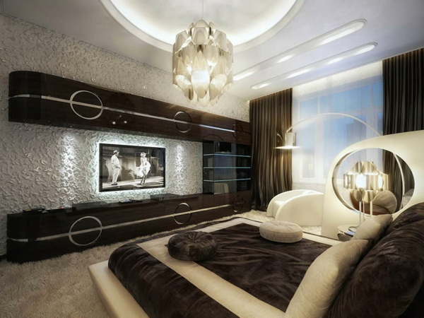 luxus schlafzimmer 32 ideen zur inspiration. Black Bedroom Furniture Sets. Home Design Ideas