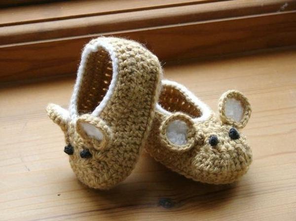 kreative-ideen-häkeln-für-baby-häkeln-babyschuhe-mit-wunderschönem-design