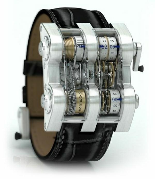 leder- armbanduhr-herren-in-schwarz.-