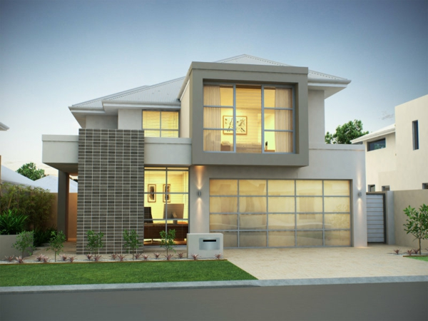 luxus-ferienhaus-design-idee--weiße-fassade