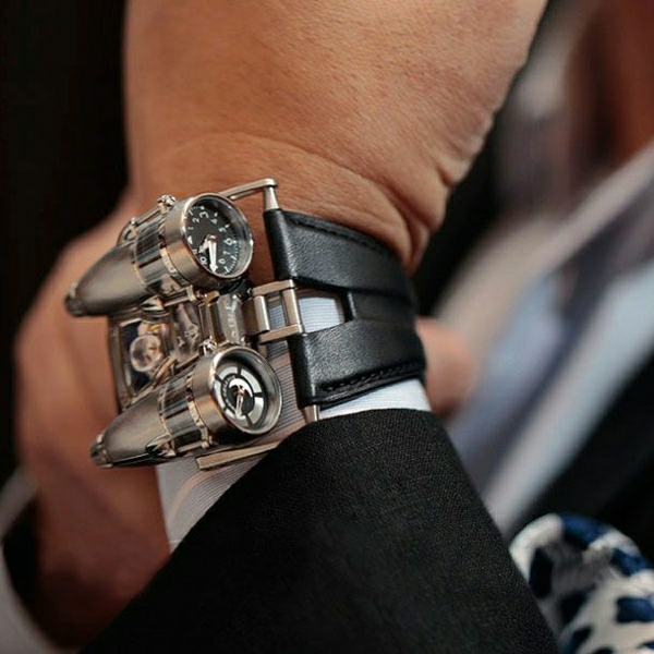 merkwürdiges-design--leder- armbanduhr-herren-