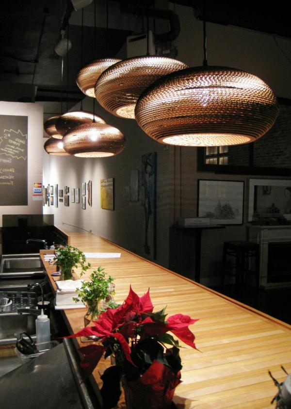 Designer lampen 83 effektvolle modelle - Lampen wohnzimmer design ...