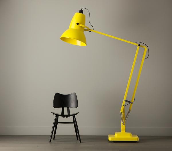 moderne-beleuchtung-moderne-lampen-interior-design-gelbe-stehlampe