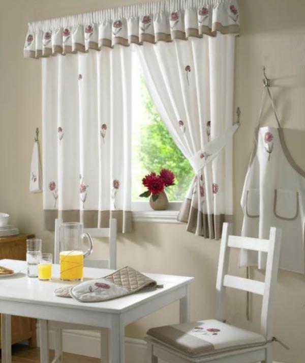 Contemporary Kitchen Curtain Ideas: 20 Passende Modelle !