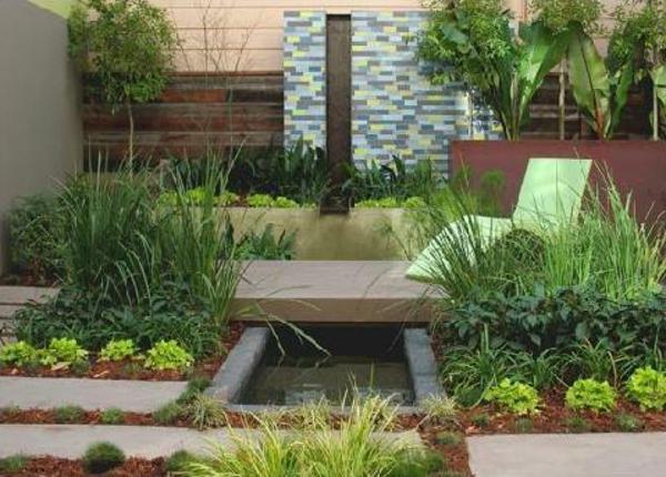 moderne-gestaltung-kleine-gärten