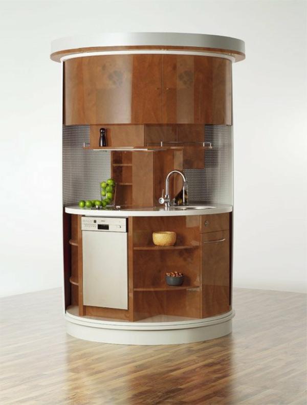 27 tolle vorschl ge f r kleinm bel - Kitchen ideas for a small space model ...