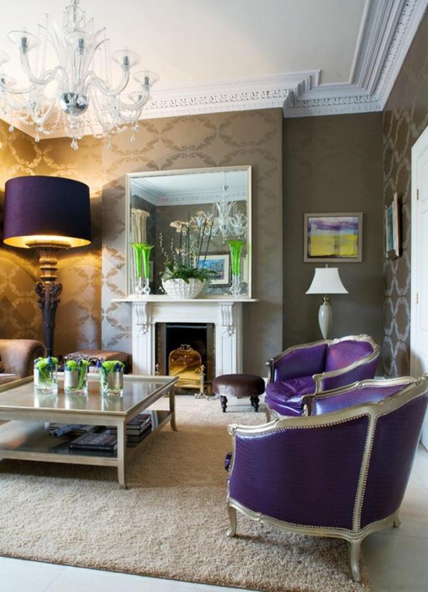 orchidee-farbe-elegante-stühle