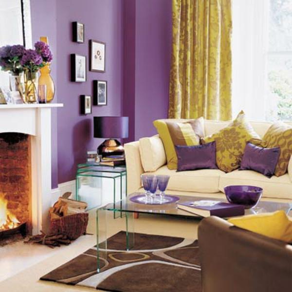 wohnzimmer in marsala farbe raum und m beldesign inspiration. Black Bedroom Furniture Sets. Home Design Ideas