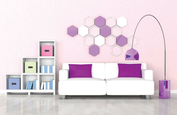 orchidee-farbe-weißes-sofa