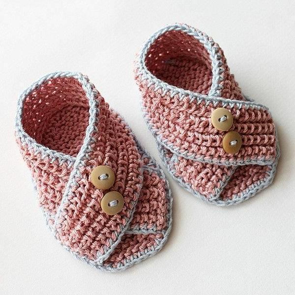 originelle-ideen-häkeln-für-baby-häkeln-babyschuhe-mit-wunderschönem-design
