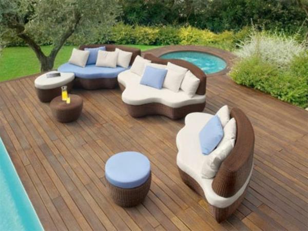 Moderne und attraktive terrassenm bel for Arredamento da esterno design