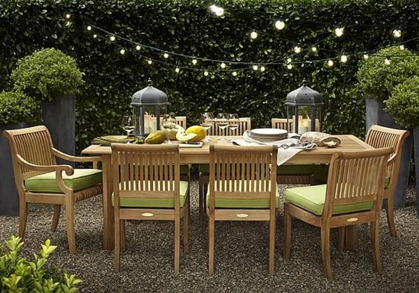 originelle-terrassen-möbel-großer-tisch