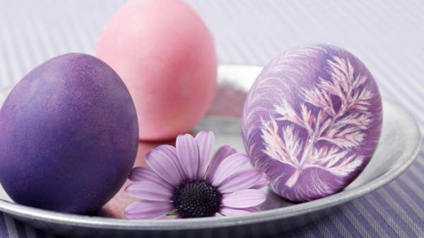 ostereier-bemalen-wunderbare-beispiele-frohe-ostern- Ostereier färben