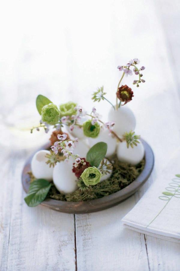 pflanzen-in-eierschalen-tischdeko-ostern