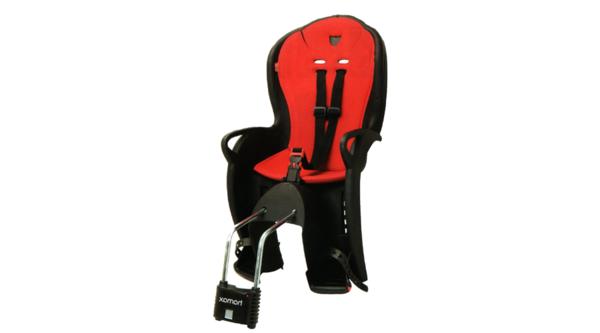 praktischer-und--moderner-fahrradsitz-baby-in-roter-farbe