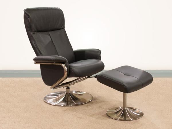 22 attraktive modelle vom relaxsessel mit hocker. Black Bedroom Furniture Sets. Home Design Ideas