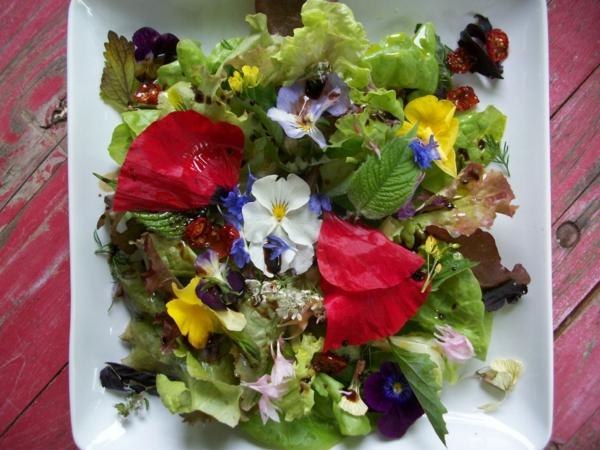 schöne-blumendeko-für-die-salate-blumen-zum-essen