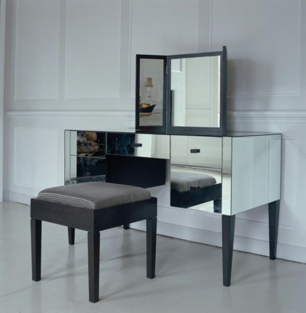 30 wundersch ne designs vom schminktisch mit hocker. Black Bedroom Furniture Sets. Home Design Ideas