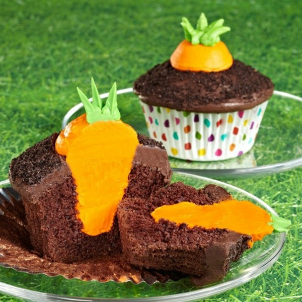 schokoladen-cupcake-zum-ostern-verzieren