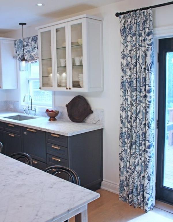 schwarz-weiße-gardinen-online-schöne-moderne-gardinen-küche-gardinen-modern