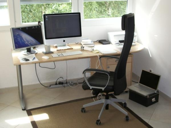 super gestaltung vom kleinen büroraum