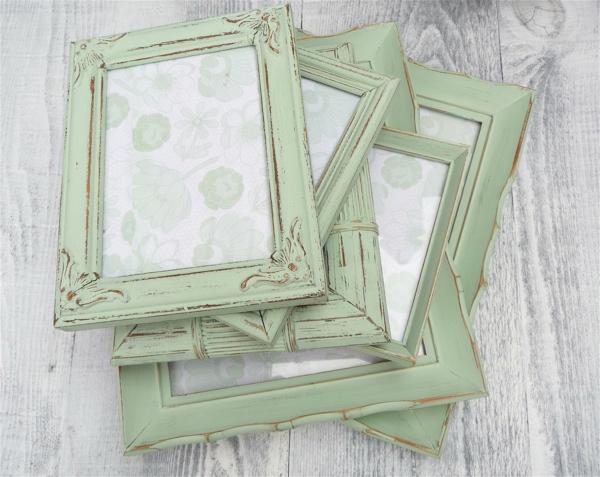 shabby-chic-einrichtung-grüne-spiegel