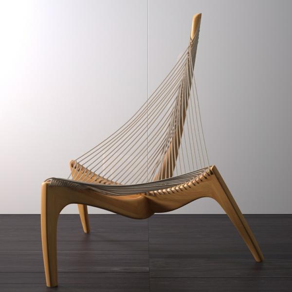skandinavische-möbel-stuhl-mit-auffälliger-form