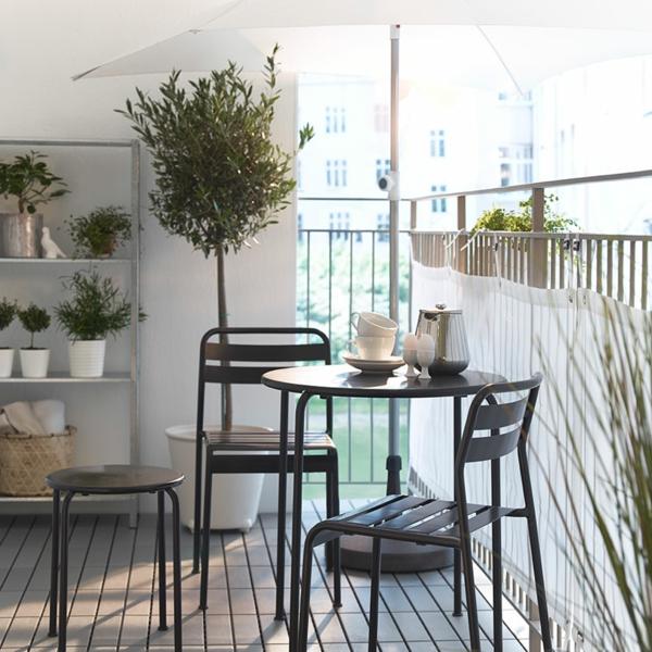 Coole modelle vom sonnenschirm für balkon!   archzine.net